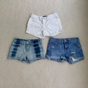 Old Navy Denim Shorts 3-piece set for Girls